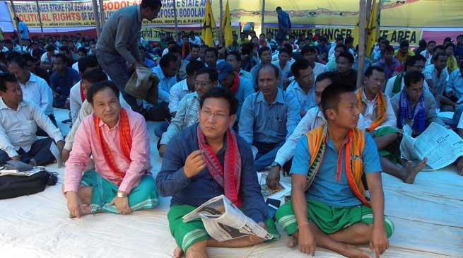 Assam- ABSU Begins Indefinite Hunger Strike in Kokrajhar