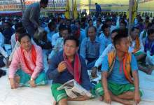 Assam- ABSU Begins Indefinite Hunger Strike in Kokrajhar