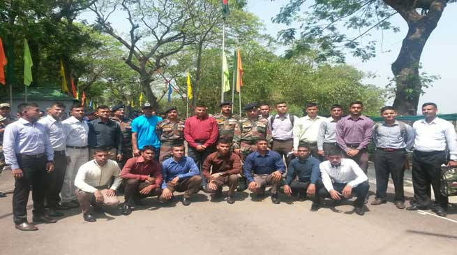 Joint cycling expedition of Indian - Bangladesh Army
