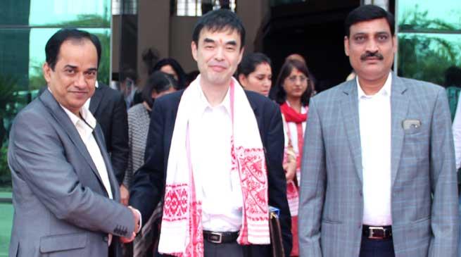 Japanese Delegation Visits Kaziranga University