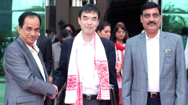 Japanese Delegation Visits Kaziranga University