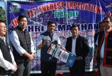 Photo of Khandu flagged off Taka Tamut for Everest Expedition