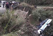 Photo of Manipur- 10 dead, many injured as bus falls into stream