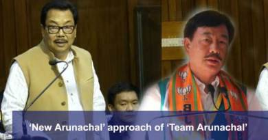 'New Arunachal' approach of 'Team Arunachal'- Tapir Gao