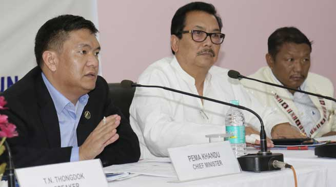 Assembly committees have active role for Sabka saath, sabka vikaas- Khandu