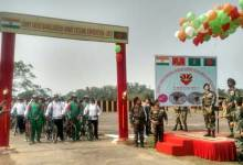 Photo of Joint cycling expedition of Indian and Bangladesh Armies