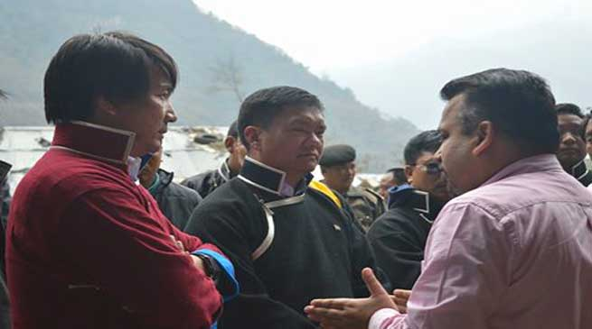 Khandu Directed Project Official to Expedite work of Sumbachu Small Hydro Power