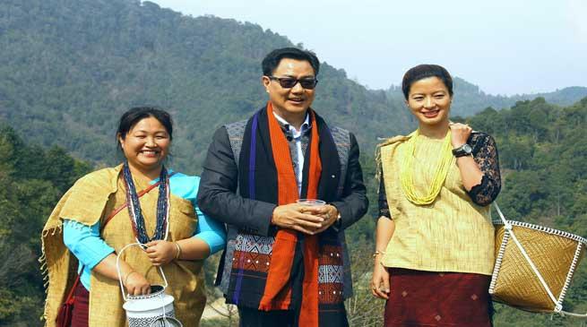 Kiren Rijiju Announces Development Packages for Ziro Plateau