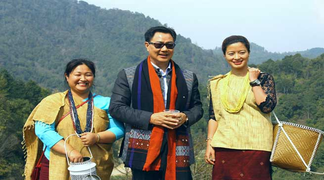 Kiren Rijiju Announces Development Packages for Ziro Plateau