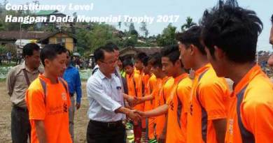 Constituency Level Hangpan Dada Memorial Trophy 2017 kicked off