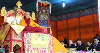 Dalai Lama Preaching Session held in Bomdila