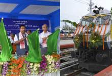 Photo of Gohain flagged off Dibrugarh-Guwahati Shatabdi Express
