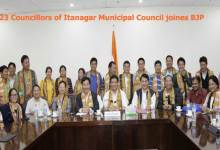 Photo of 23 Councillors of Itanagar Municipal Council joines BJP
