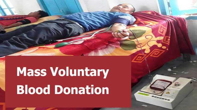 ABSU Organised Mass Voluntary Blood Donation Camp