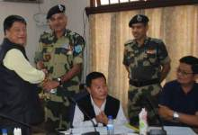 Aizawl- Meeting on Border Development Issues