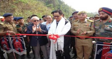 Arunachal- Kiren Rijiju inaugurates Three Bridges