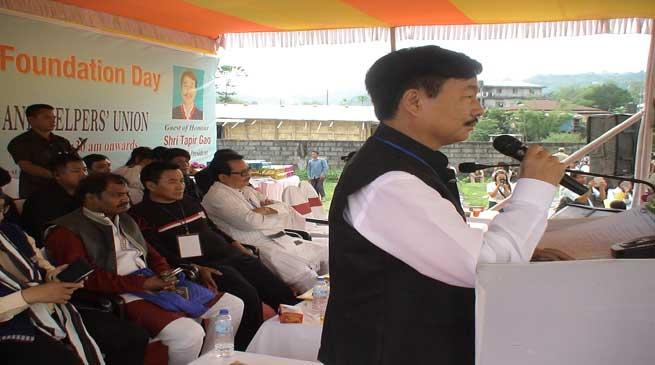 BJP will make New Arunachal- Tapir Gao