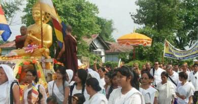 Namsai- Buddha Jayanti Celebrated at Pariyatti Sasana Buddha Vihara
