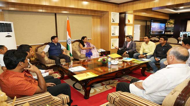 IMCT Visits to Assess the Damages caused by Natural Calamities