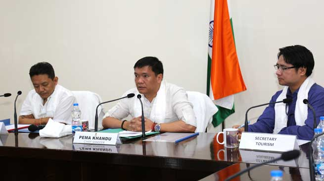Good Hospitality is must to boost Tourism- Khandu