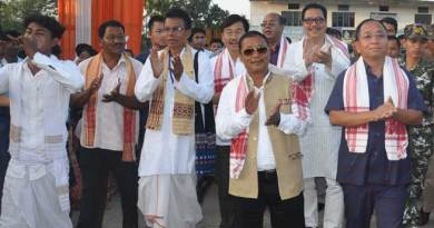 Different Communities Celebrates Rongali Bihu together at Mahadevpur
