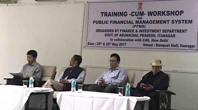 Finance Dept Organises Training for Public Financial Management system