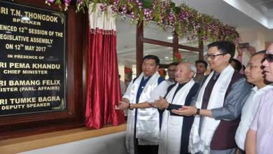 Photo of Khandu Calls upon MLAs to make Arunachal Legislature the best in the Country
