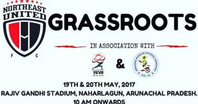 North East United FC will conduct Grass root Festival at Naharlagun