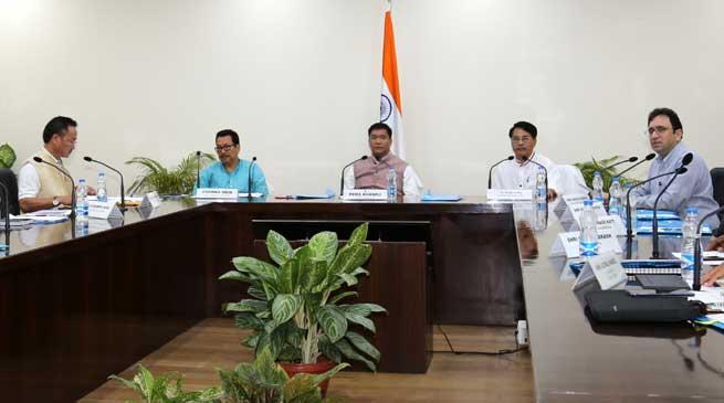 Khandu ask Officials- Prepare Road Map to Turn Arunachal as an organic state
