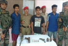 Photo of Army Apprehended KLO and NDFB(S) Cadres from Lower Assam