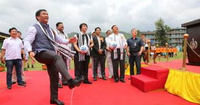 Khandu Kicked off Oorja CAPF Football Talent Hunt Tournament