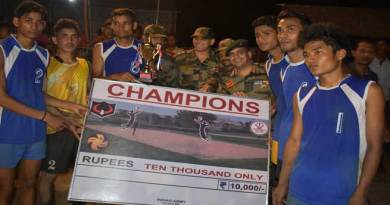 Army Conducts Nalbari Volleyball Premier League