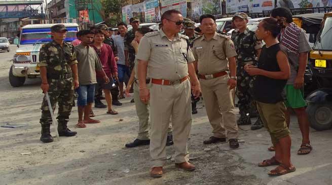 Naharlagun- Capital Police Organises Awareness on Traffic Rules