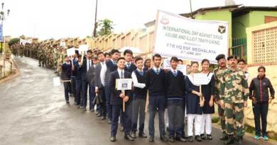 BSF organises Rally on International Day Against Drug Abuse and Illicit Trafficking