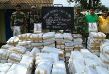 Photo of BSF Seized Huge Quantity of Saree and Betel Nut