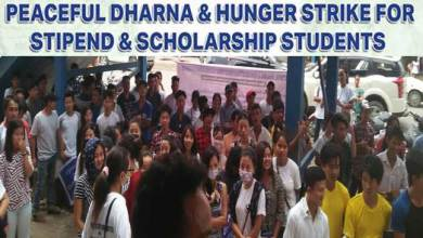 Photo of JIC organise Dharna for Stipend &  Scholarship Students