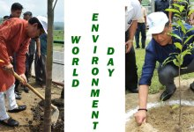 Photo of Khandu Joins School Children to celebrates World Environment Day