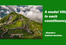 A model Village in each constituency- Khandu's Cabinet decision