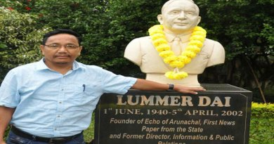 Sahitya Surjya Luminous Lummer Dai- The Literary Doyen of Arunachal