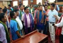 Photo of Sonowal Kachari Council team exposure visit to BTC