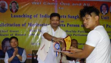 Photo of Sports have no barrier of caste, creed and religion-Tesam Pongte