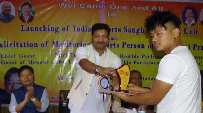 Sports have no barrier of caste, creed and religion-Tesam Pongte