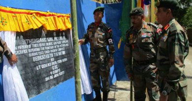 Goc Gajraj Corps Inaugurates Thembang War Memorial