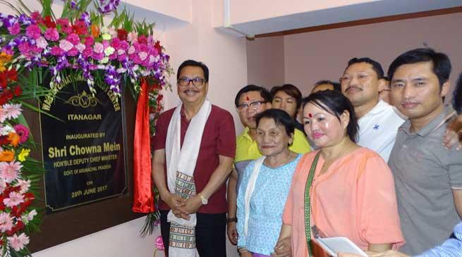 Chowna Mein inaugurates Waii International fitness centre