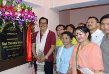 Chowna Mein inaugurates Waii International fitness centre