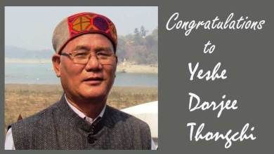 Arunachal: Yeshe Dorjee Thongchi to receive Sukapha Award