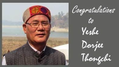 Arunachal: Yeshe Dorjee Thongchi to receive Sukapha Award