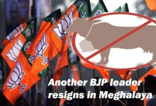 Cattle trade and slaughter rules- Another BJP leader resigns in Meghalaya