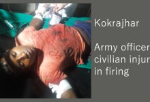 Photo of Kokrajhar- Army officer, civilian injured in firing