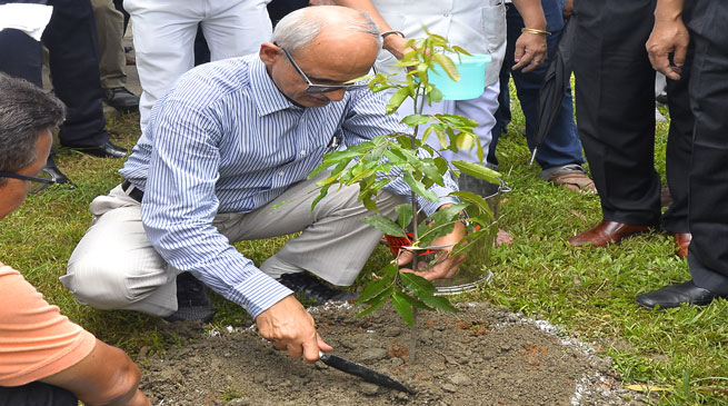 NF Railway Observes World Environment Day